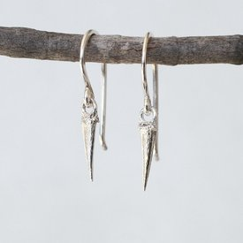 Thicket Thicket Sterling Silver Earrings - Catbrier Thorn