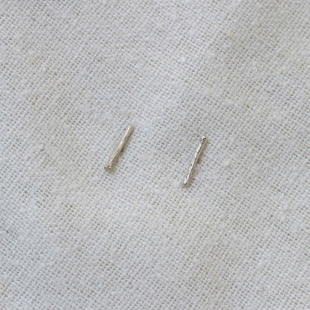 Thicket Sterling Silver Earrings - Blackberry Brambles