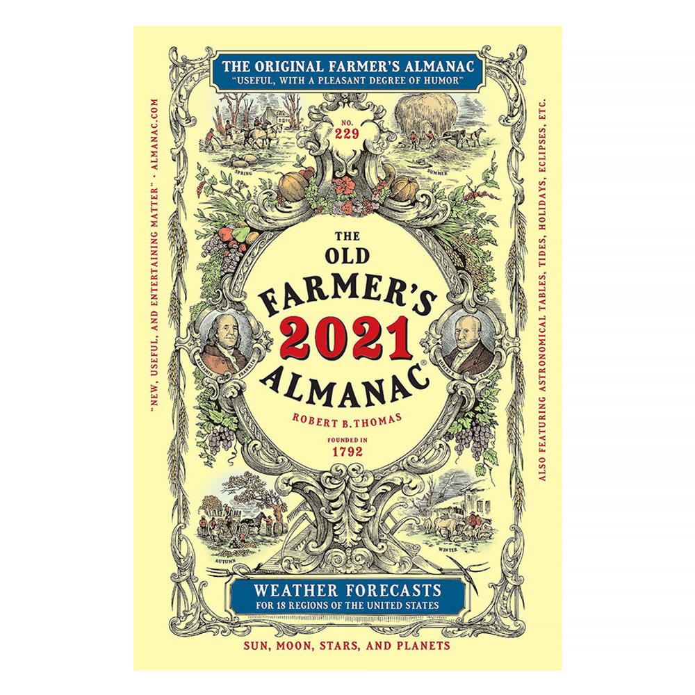 Houghton Mifflin Harcourt The Old Farmer's Almanac 2021