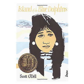 Houghton Mifflin Harcourt Island of the Blue Dolphins by Scott O'Dell