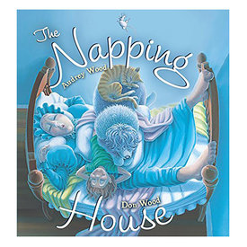 Houghton Mifflin Harcourt The Napping House - Board Book