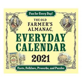 Houghton Mifflin Harcourt The Old Farmer's Almanac 2021 Everyday Calendar