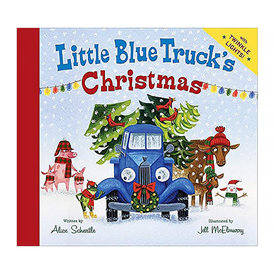 Houghton Mifflin Harcourt The Little Blue Truck's Christmas - Board Book