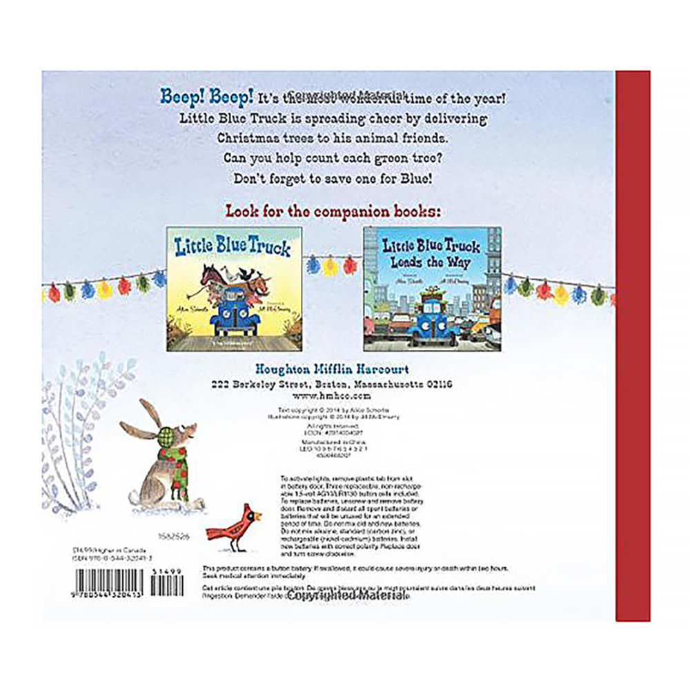 The Little Blue Truck's Christmas - Board Book