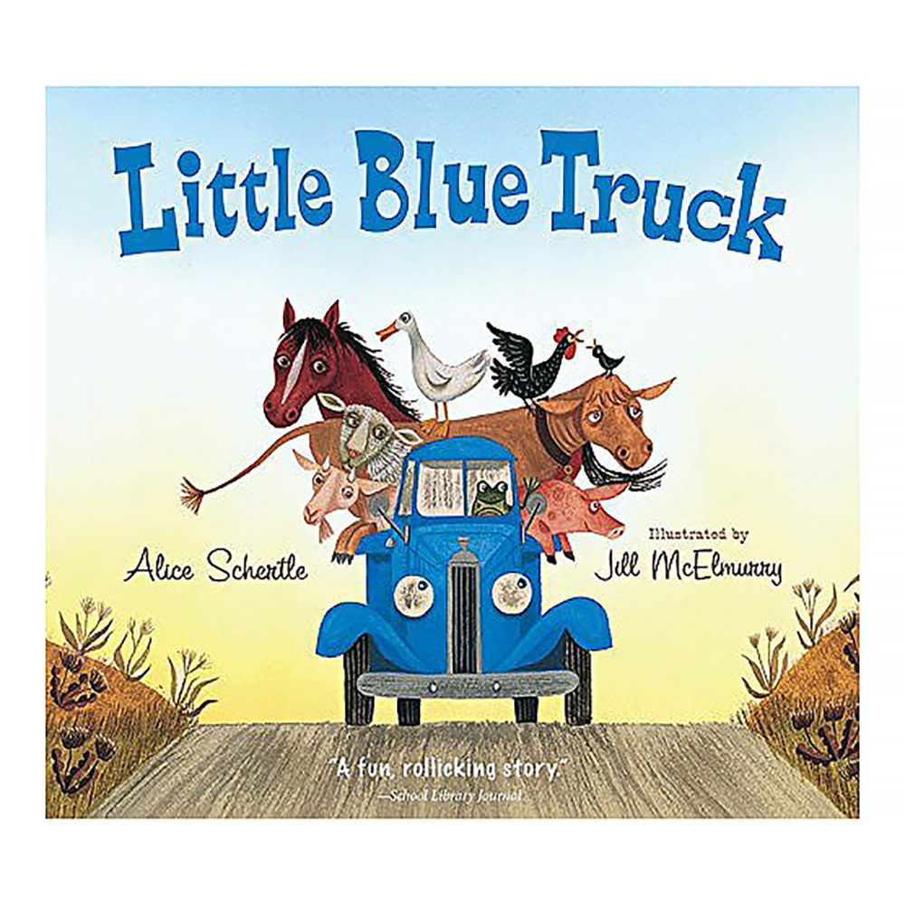 Houghton Mifflin Harcourt Little Blue Truck: New Edition - Board Book