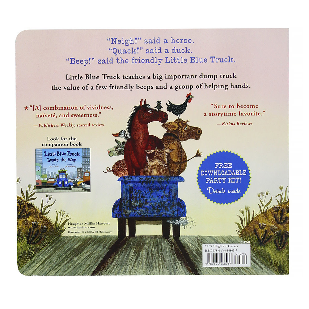 Little Blue Truck: New Edition - Board Book