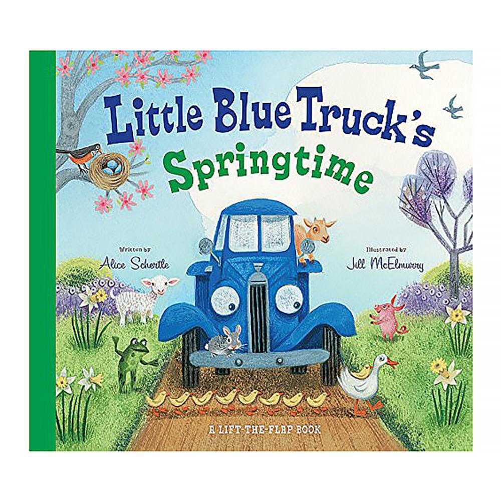 Little Blue Truck's Springtime Board Book