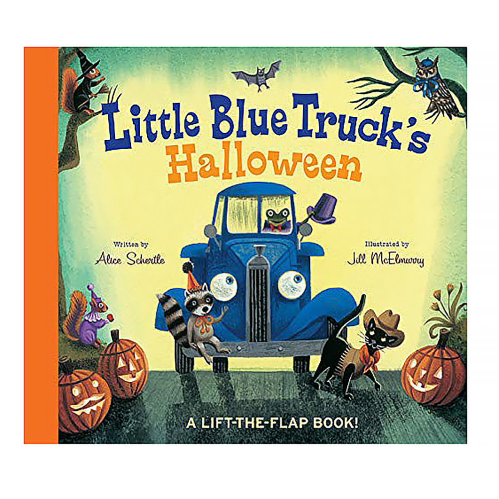 Little Blue Truck's Halloween - Board Book
