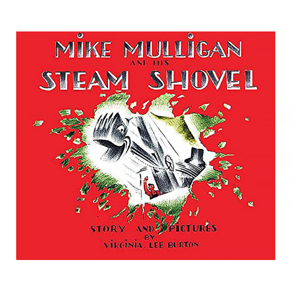 Houghton Mifflin Harcourt Mike Mulligan and His Steam Shovel - Board Book