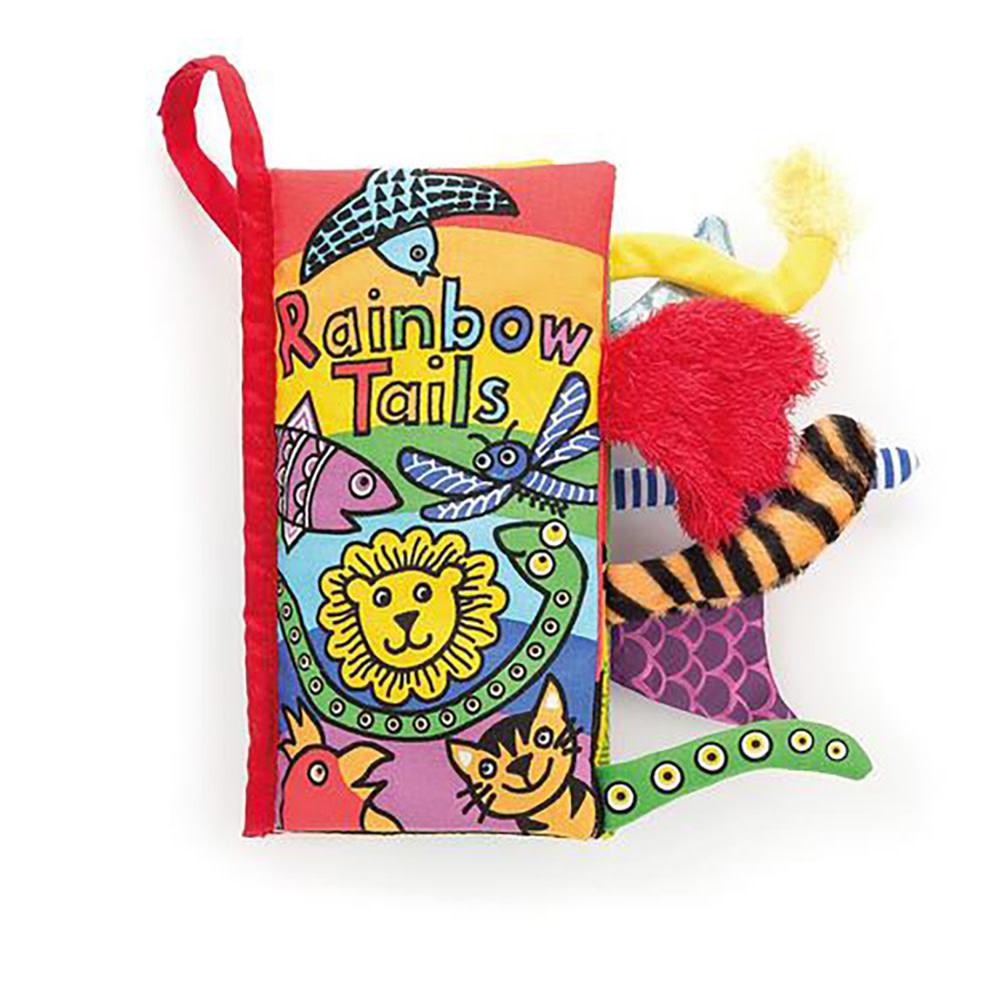 Jellycat Rainbow Tails Book