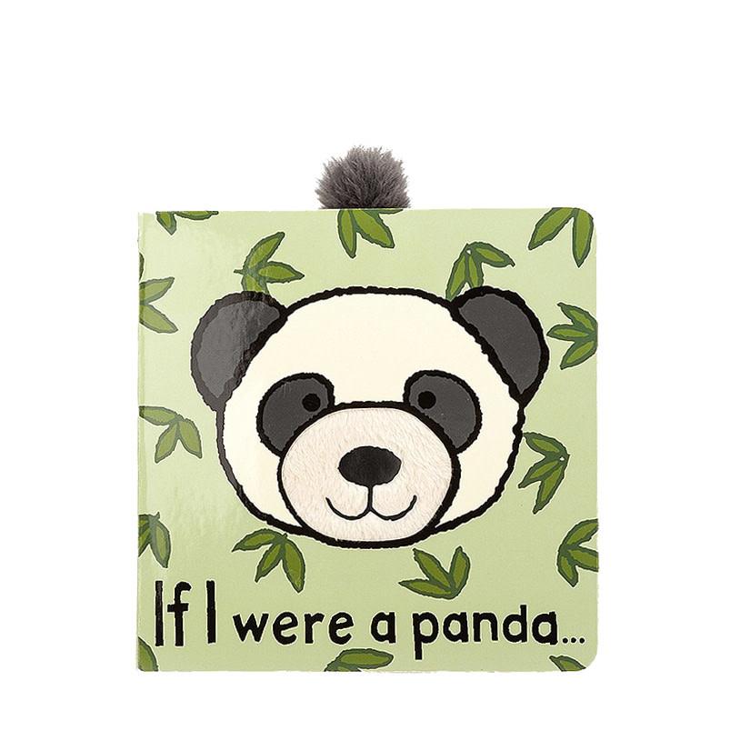 Jellycat Jellycat If I Were A Panda Board Book