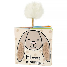 Jellycat Jellycat If I Were A Bunny Beige Board Book