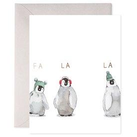 E Frances Paper E Frances Cozy Penguins Card