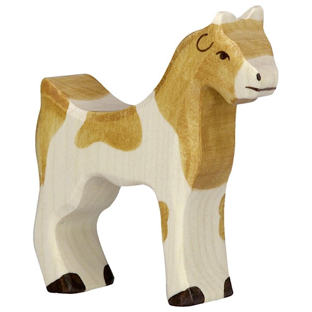 Holztiger Wooden Goat