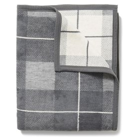 Chappywrap Chappywrap Blanket - Sea Watch Plaid Grey