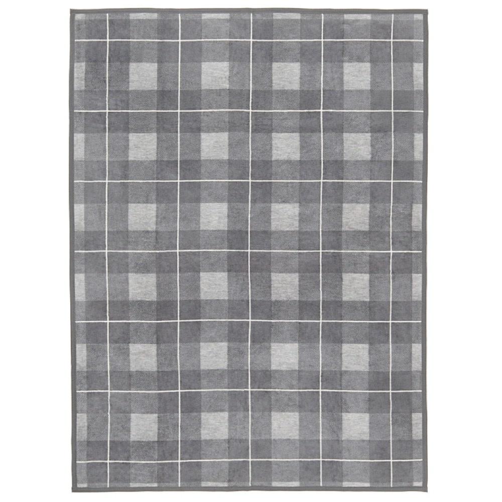 Chappywrap Blanket - Sea Watch Plaid Grey