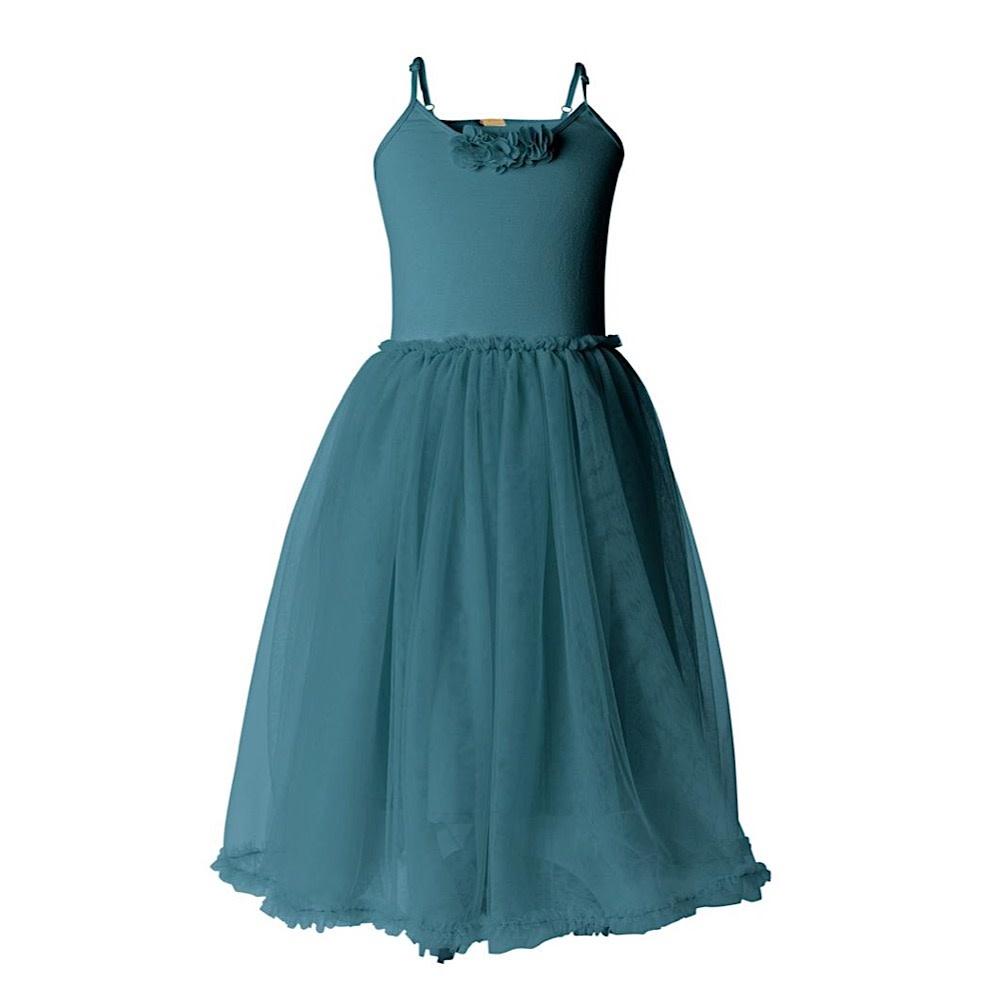 Maileg Child Ballerina Dress - Petrol