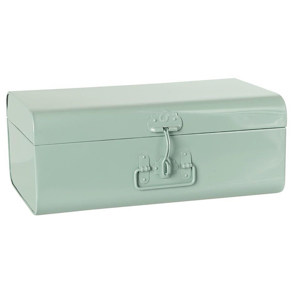 Maileg Storage Suitcase - Set of 3 - 2 Small Pink & 1 Small Blue