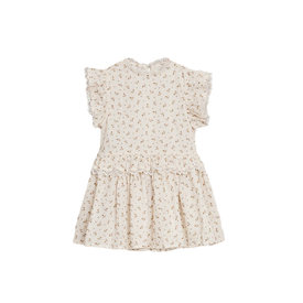 Noralee Noralee Gold Fleur Alice Dress - Shell