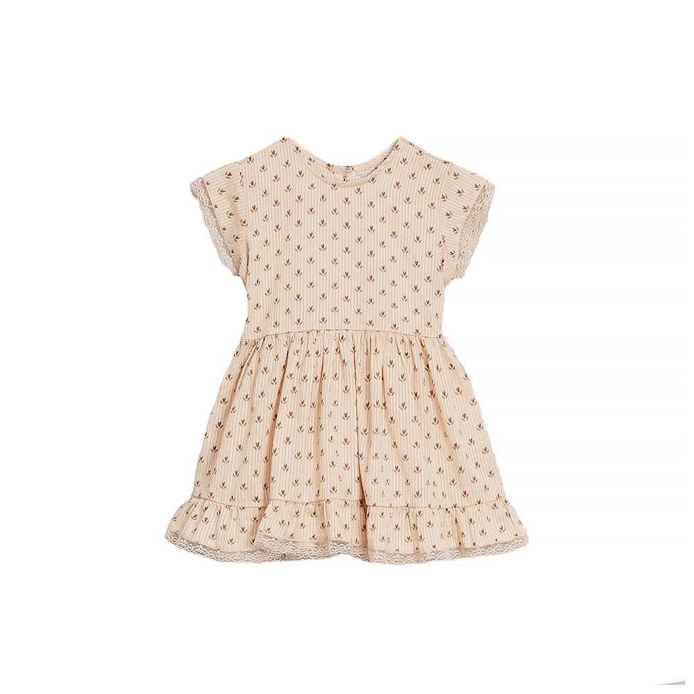 Noralee Tulip Betty Dress - Light Peach