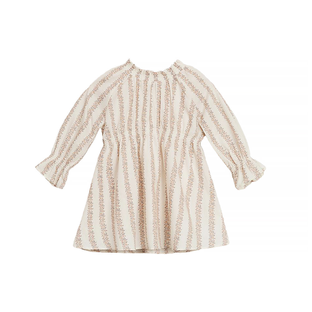 Noralee Noralee Rose Striped Chloe Dress - Shell