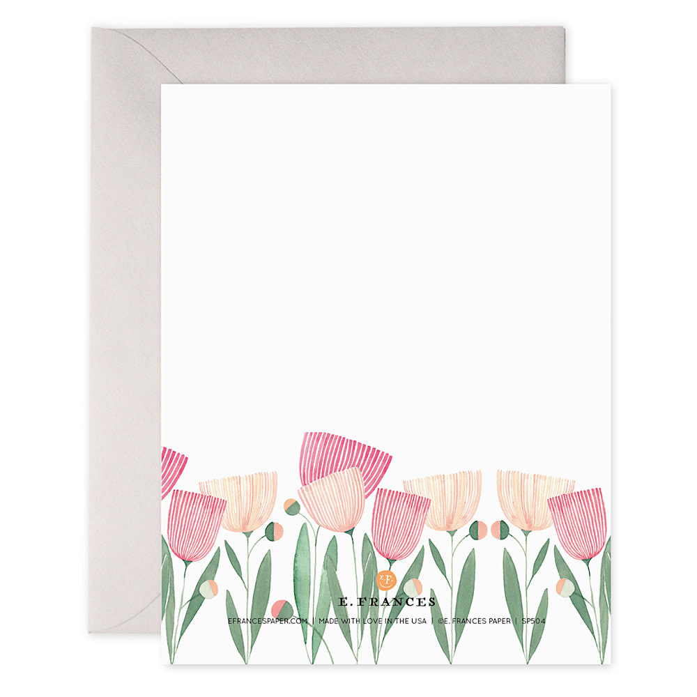 E Frances Blooms for Mom Card
