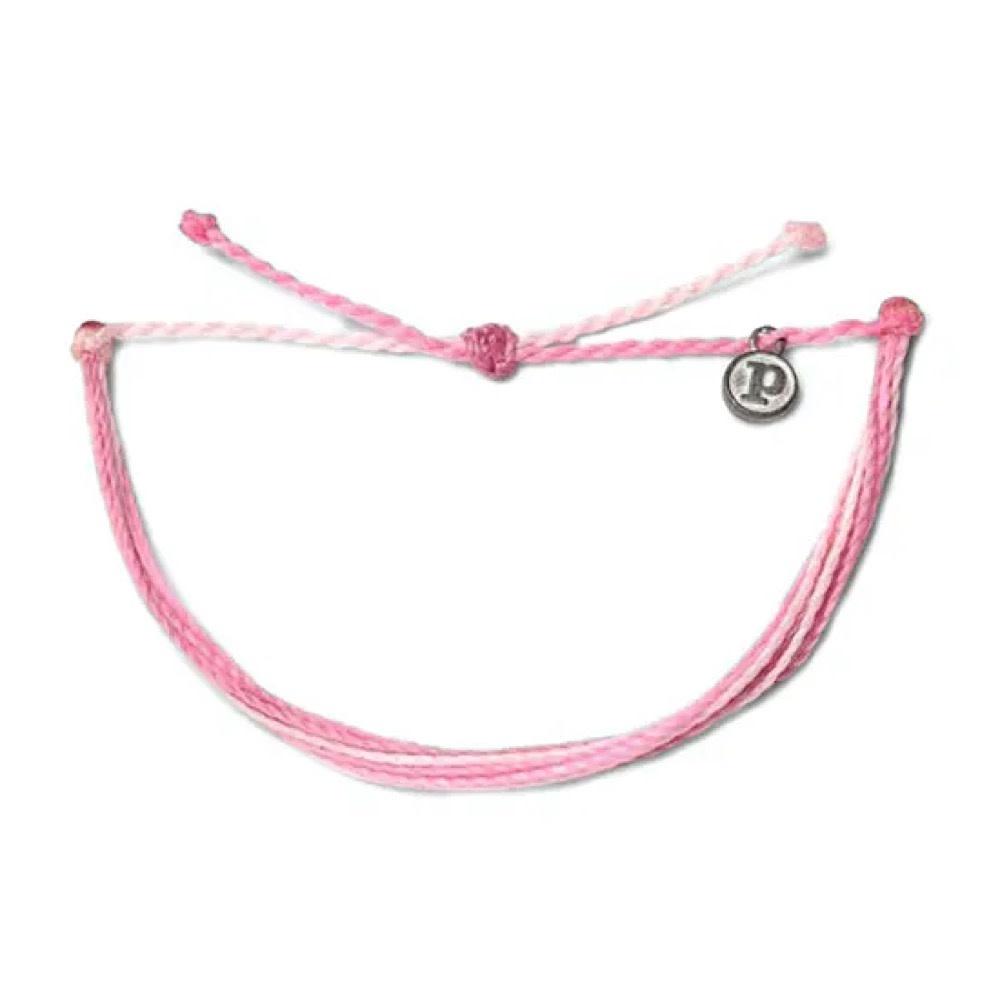 Pura Vida Original Bracelet - Charity Breast Cancer