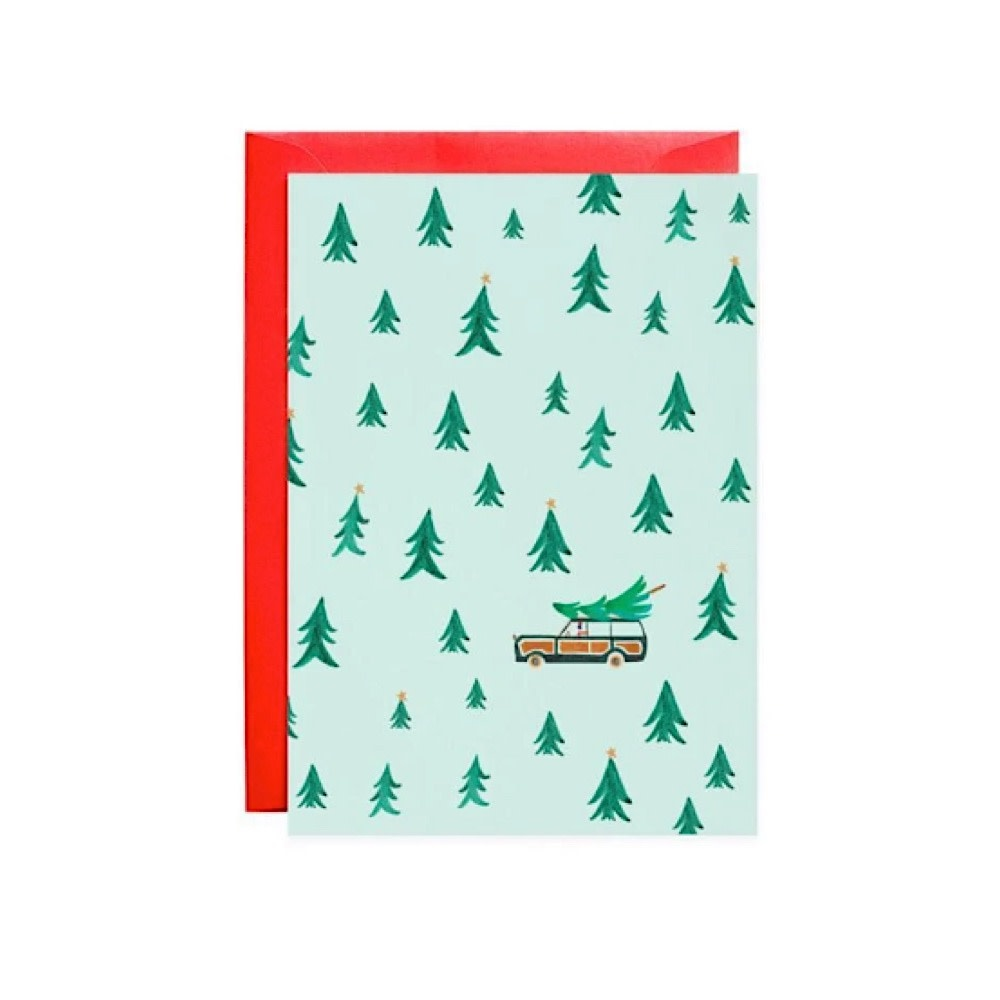Mr. Boddington's Studio Laughing All The Way Petite Card