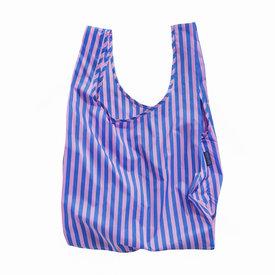 Baggu Standard Baggu - Pink and Blue Stripe