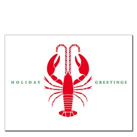 Daytrip Society Daytrip Society Holiday Greetings Lobster Card