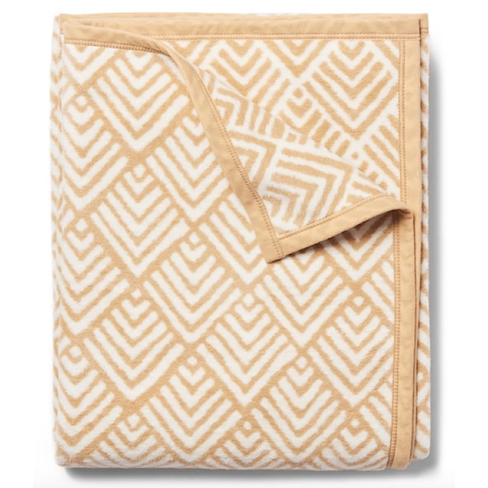 Chappywrap Blanket - Oyster Cove Diamonds Camel