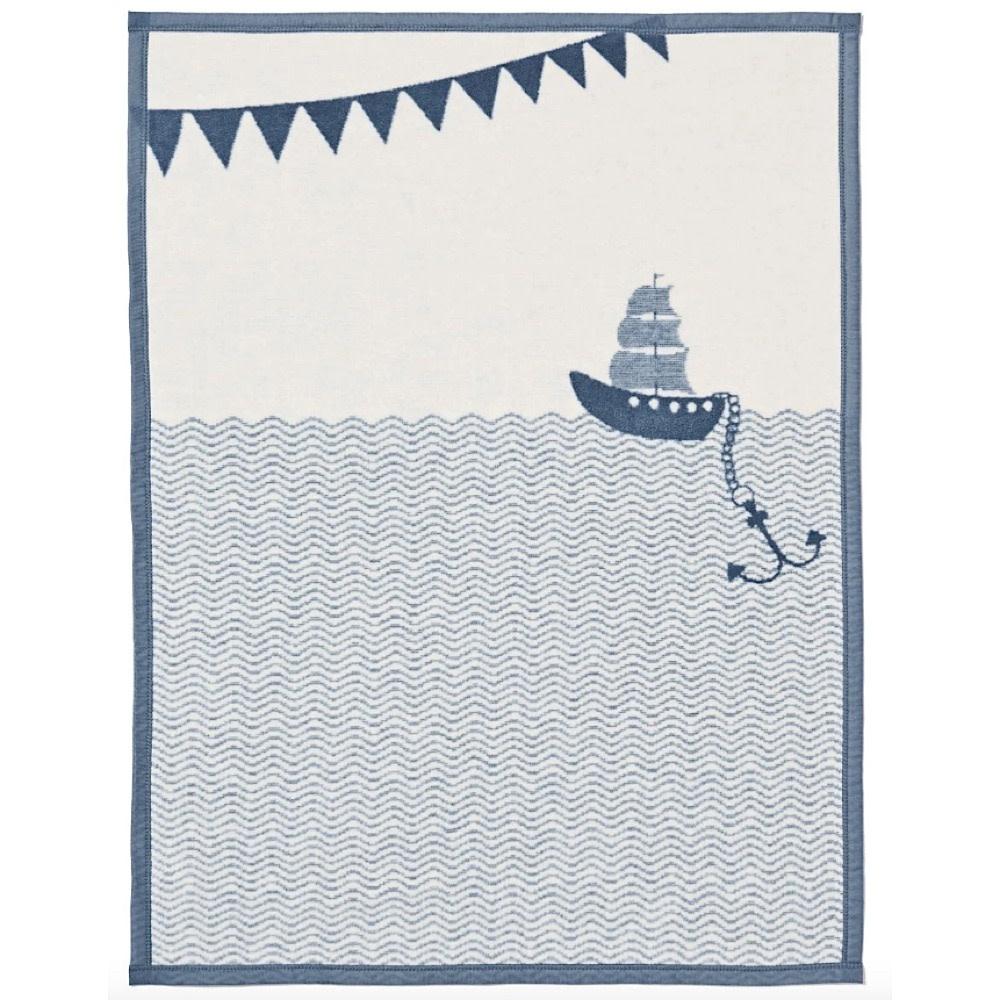 Chappywrap Chappywrap Mini Blanket - Ahoy Matey
