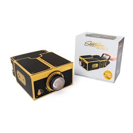 Luckies Luckies of London Smart Phone Projector 2.0 - Black & Gold