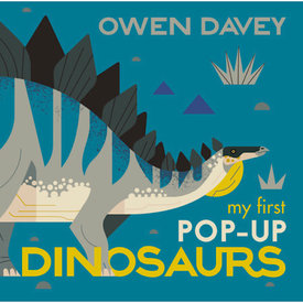 Candlewick Press My First Pop-Up Dinosaurs: 15 Incredible Pop-ups by Owen Davey