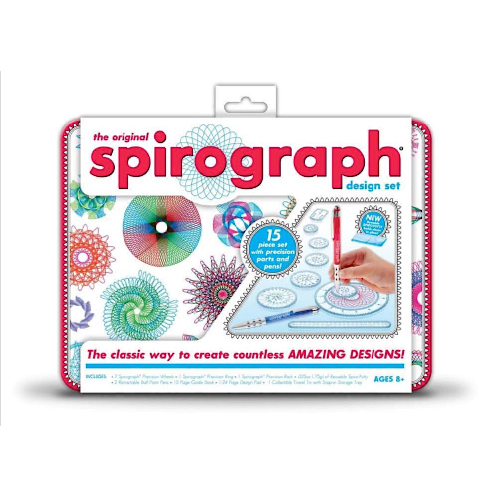 Everest Toys Spirograph Design Tin