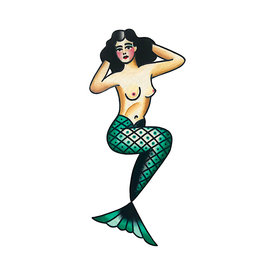 Tattly Tattly Tattoo 2-Pack - Mermaid