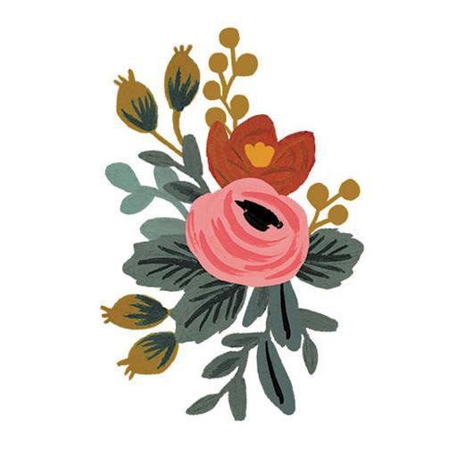 Tattly Tattoo 2-Pack - Rosa