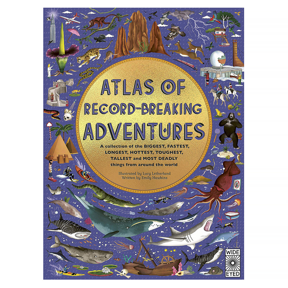 Quarto Atlas of Record-Breaking Adventures