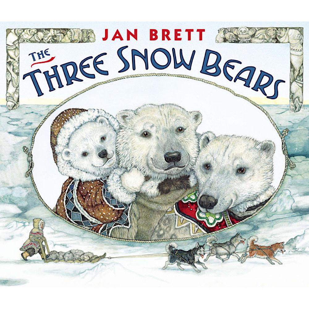 Penguin The Three Snow Bears by Jan Brett