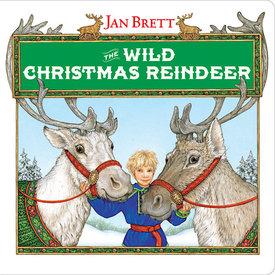 Penguin The Wild Christmas Reindeer by Jan Brett