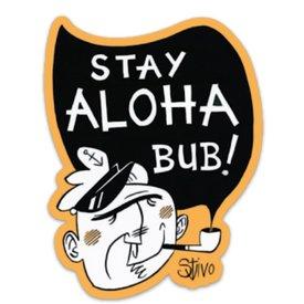 Salt & Soil Salt & Soil Stay Aloha Bub Sticker