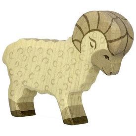 Holztiger Holztiger Wooden Sheep - White Ram