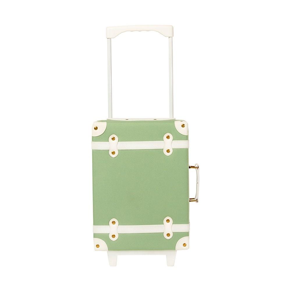 Olli Ella Olli Ella  See-Ya Suitcase - Sage