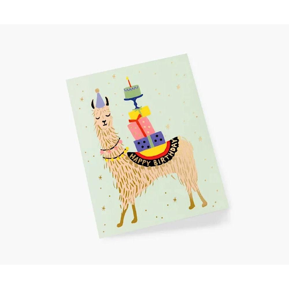 Rifle Paper Co. Card - Llama Birthday
