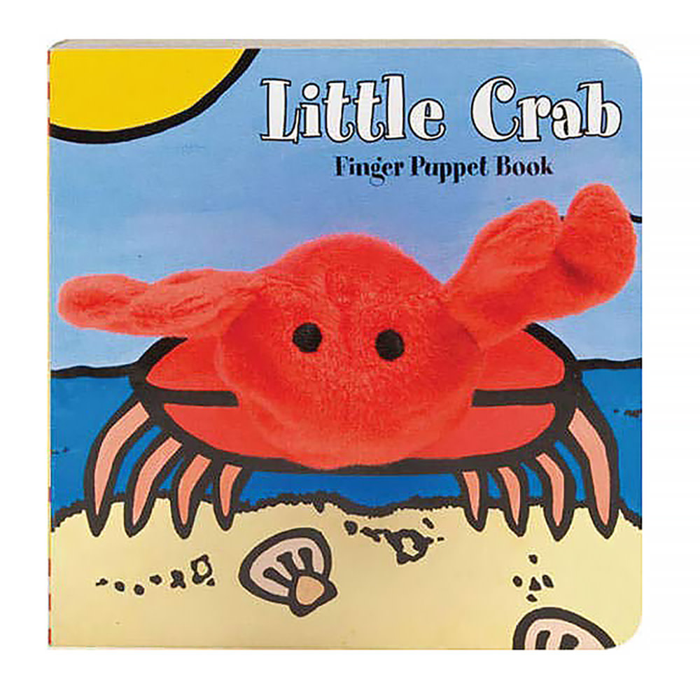 Chronicle Little Crab Finger Puppet Board Book