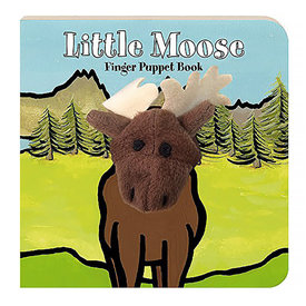 Chronicle Little Moose Finger Puppet Board Book