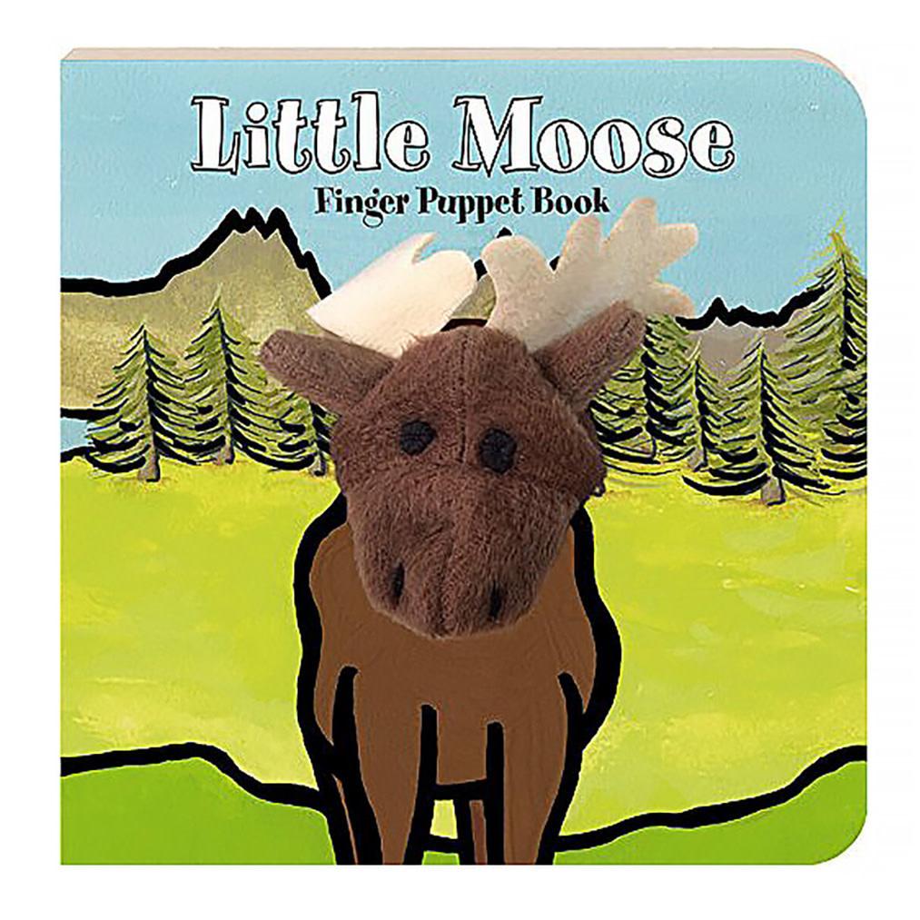 Little Moose Finger Puppet Board Book