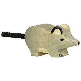 Holztiger Holztiger Wooden Mouse - Grey