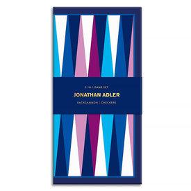 Hachette Jonathan Adler 2-in-1 Travel Game Set