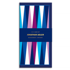 Hachette Jonathan Adler Game Set - Backgammon & Checkers